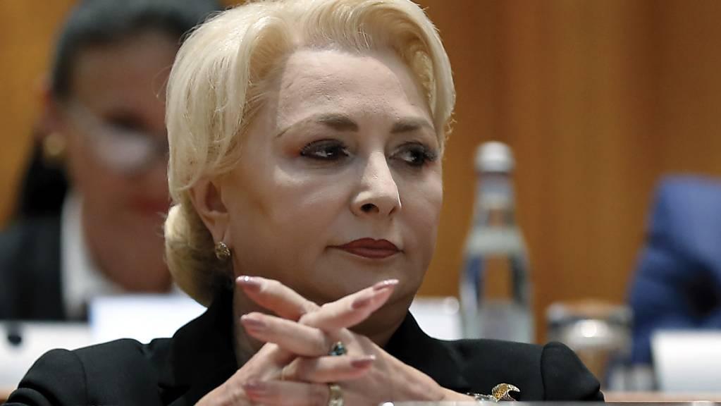 Konnte die Parlamentarier nicht mehr überzeugen und wurde abgewählt: Ministerpräsidentin Viorica Dancila.
