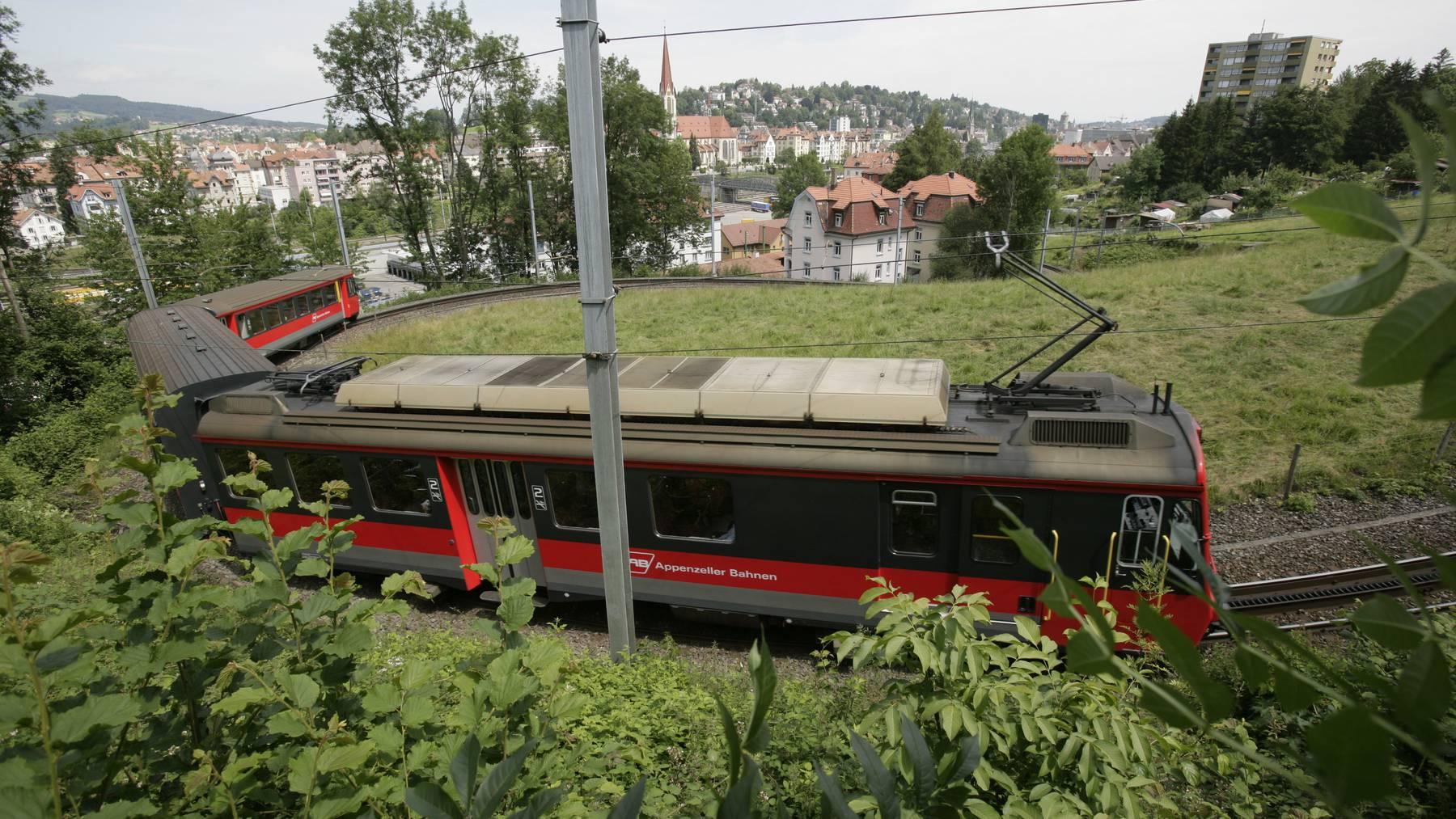 Das Logo der Appenzeller Bahn ist vielleicht auch bald in Kamerun zu sehen.
