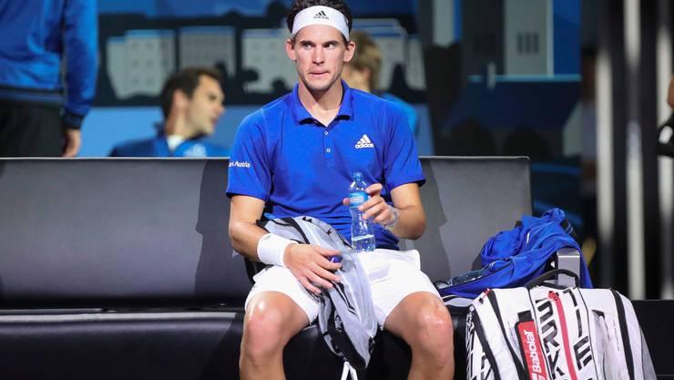 Übernimmt im Einzel für Rafael Nadal: Dominic Thiem (Bild: Keystone).