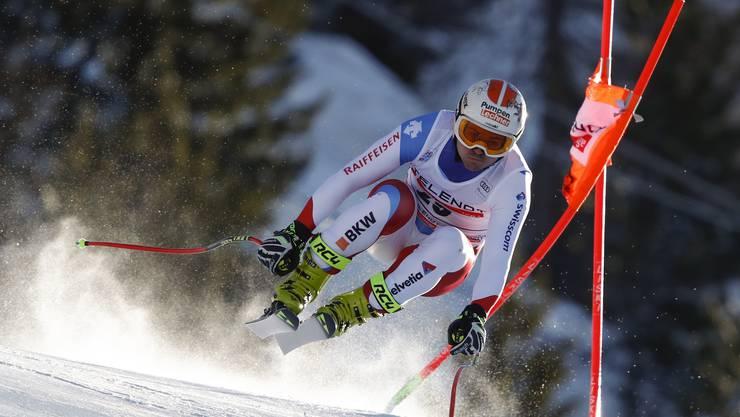 Urs Kryenbühl legte bei der Weltcup-Abfahrt von Bormio eine sensationelle Fahrt hin
