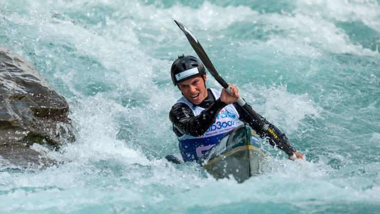 Robin Häfeli konnte sich in diesem Rennen verbessern.