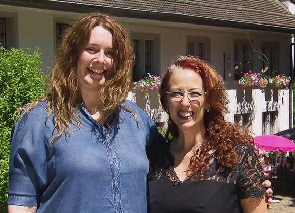 Restaurant Müli, Mülligen: Stammgast Sandra (l.) und Tessa Schneider sind am Dienstag, 21. August, am TV zu sehen.