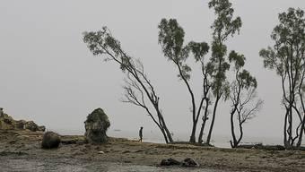 Der Anstieg des Wasserspiegels führt in vielen stark besiedelten Ländern zu bedrohlichen Situationen. (im Bild ein Mündungsdelta der zahlreichen Flüsse in Bangladesch, Aufnahme vom November 2015)