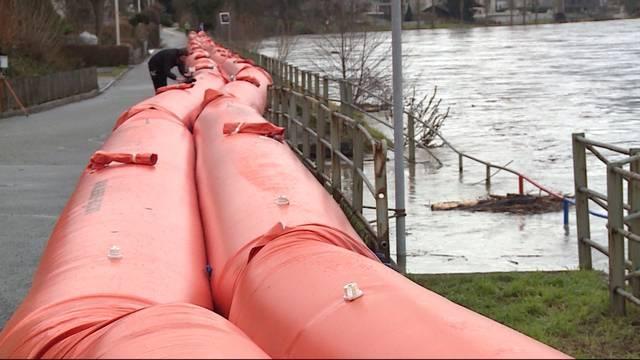 Hochwassersituation entspannt sich