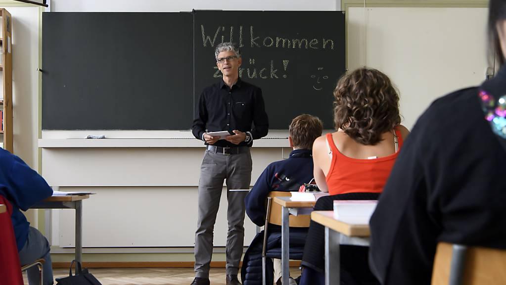 Lehrer scheint ein Traumberuf zu bleiben: Erneut haben sich so viele Menschen an der PH Luzern eingeschrieben, wie noch nie.