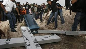 In Mexiko gibt es immer wieder zahlreiche Opfer im Drogenkrieg (Symbolbild, Archiv)