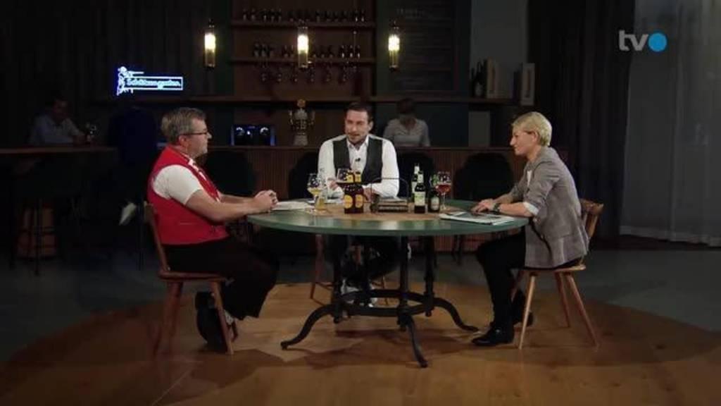 Stammtisch mit Christine Bolt und Hansjürg Freund