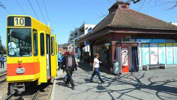 Die Tramlinie 10 fährt nicht nur in den beiden Kantonen Baselland und Basel-Stadt, sondern auch in Solothurn und sogar kurz in Frankreich.