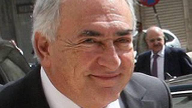 Strauss-Kahn mahnt zur Vorsicht