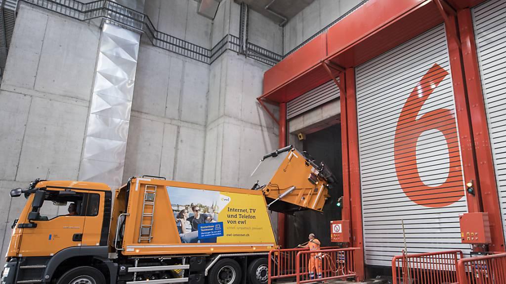 Im Kanton Luzern bleibt die Abfallmenge konstant