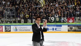 Vicky Mantegazza, Präsidentin des HC Lugano.