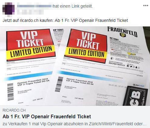 Facebook-Verkauf OAFF