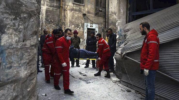 Im Dezember 2016 liessen die Kämpfe etwas nach, das IKRK konnte eine Evakuierung starten.