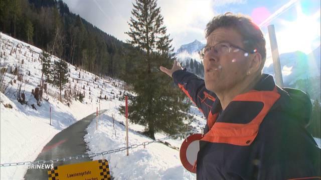 Hohe Lawinengefahr in Alpen bleibt bestehen