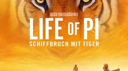 Kinotipp: LIFE OF PI – SCHIFFBRUCH MIT TIGER 3D
