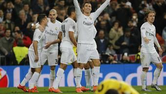 Real Madrid mit 1:0-Schütze Ronaldo traf innerhalb von vier Minuten zweimal