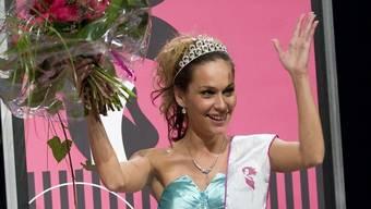 Ist wieder zu haben: Ex-Miss-Handicap Corinne Parrat (Archiv)