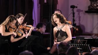 Sopranistin Maya Boog überzeugte am Festival der Stille.