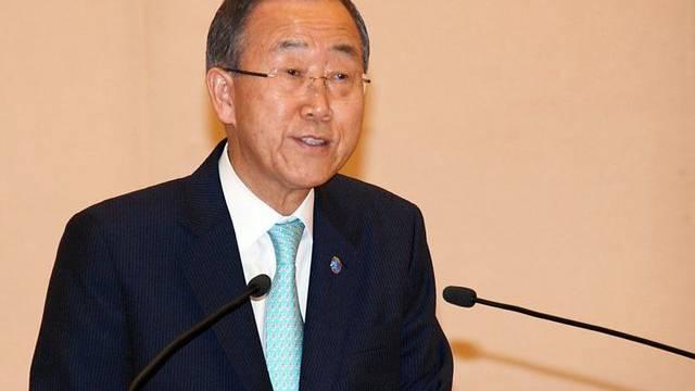 Ban Ki Moon wünscht sich mehr Engagement von der Schweiz (Archiv)