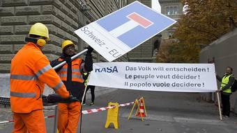 Der Bund lehnt die RASA-Initiative ab – verzichtet aber voraussichtlich auf einen Gegenvorschlag. (Archivbild)