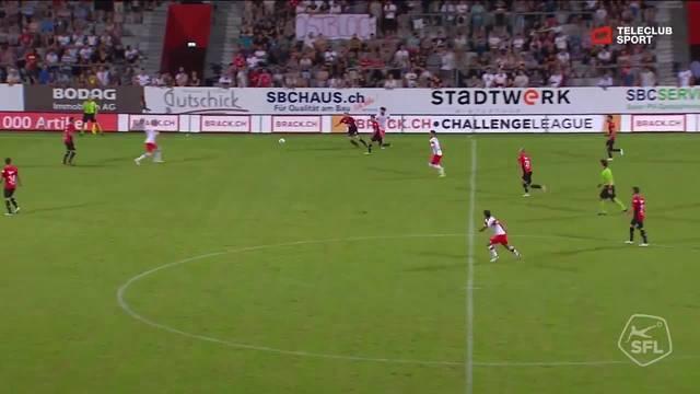 Challenge League 2018/19, 2. Runde, FC Winterthur - FC Aarau, 2:0 Davide Callà