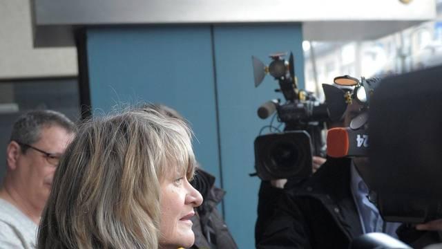 Journalistin Alice Schwarzer berichtet über den Kachelmann-Prozess