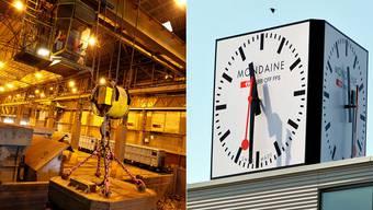 Bundesbern «senkt» Energiekosten für Stahl Gerlafingen. Für die Mondaine verschärfen sich jedoch die «Swiss made»-Vorlagen.