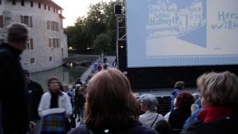 Auch heuer gibts beim Schloss Hallwyl Filme unter freiem Himmel. tf