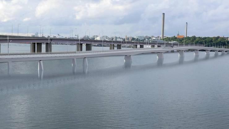 Implenia erhält einen Auftrag für den Bau einer der längsten Brücken Schwedens.