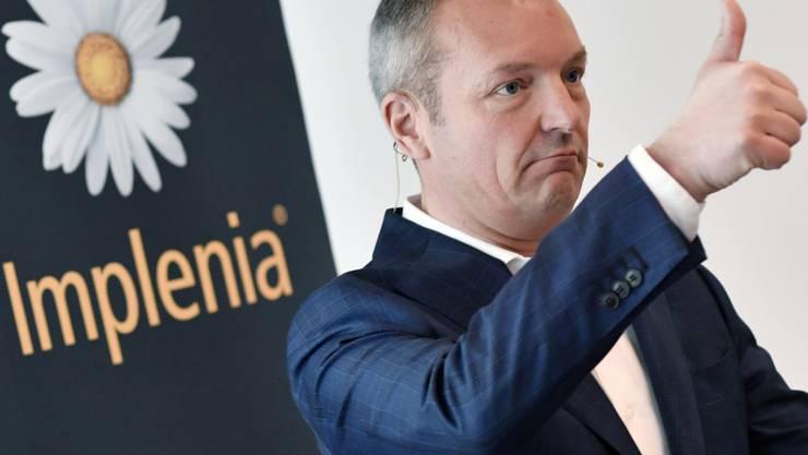 Investoren haben es auf das Bauland von Implenia abgesehen. Das Management um CEO Andre Wyss kommt diesen nun entgegen. (Archivbild)