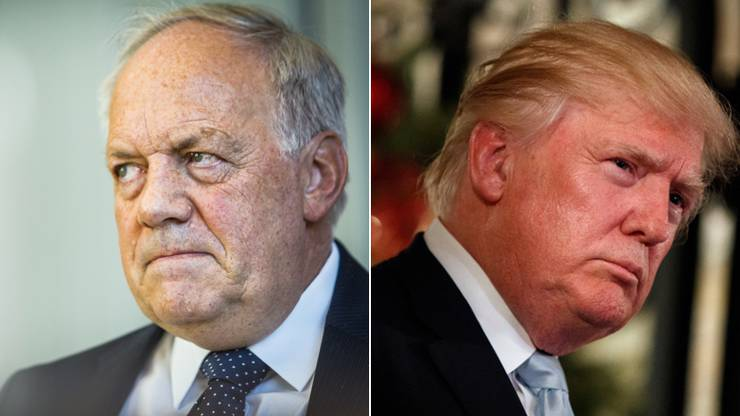 Johann Schneider-Ammann und Donald Trump