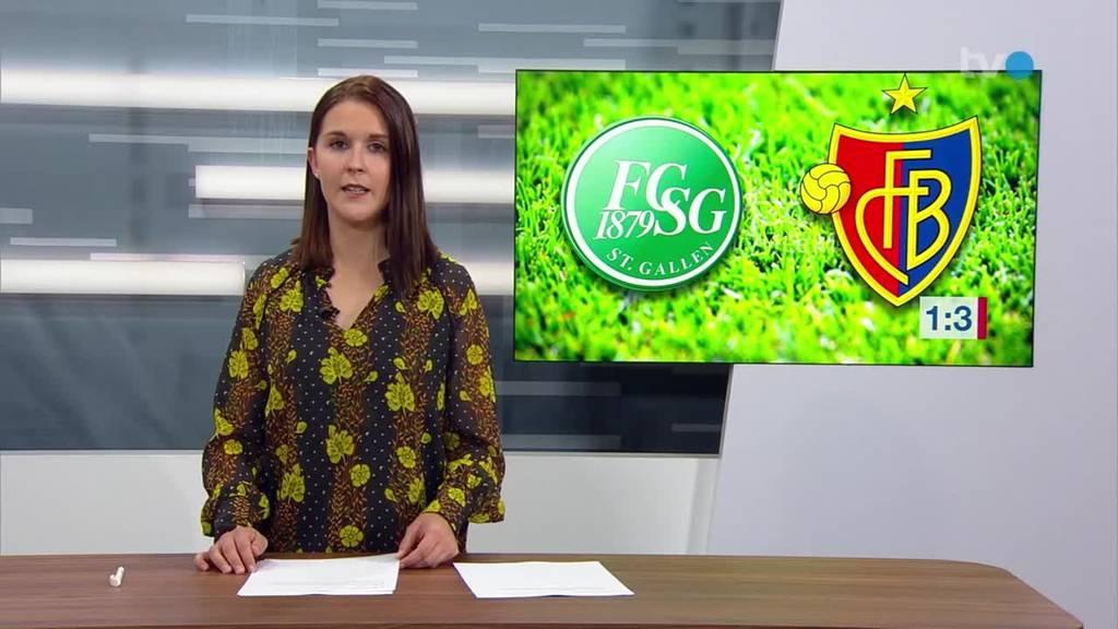 Der FCSG verliert gegen Basel mit 1:3