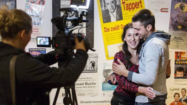 Am Schluss war alles gut: Funda Yilmaz und ihr Verlobter Nico.