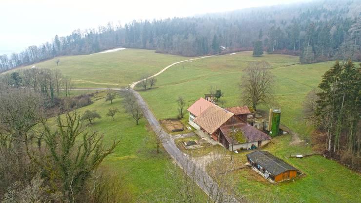 Der Wilmatthof liegt auf dem Grenzgebiet zwischen Trimbach, Winznau und Mahren.
