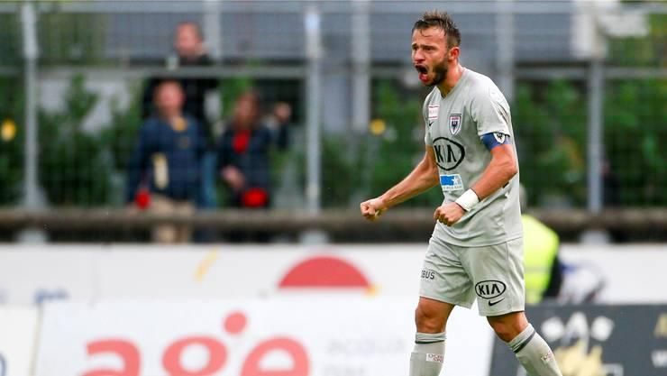 Der Antreiber und Mann fürs Grobe – doch ausgerechnet in Chiasso muss der FC Aarau auf Elsad Zverotic verzichten. Fresh