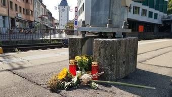 Tödlicher Unfall Bahnhof Baden August 2019