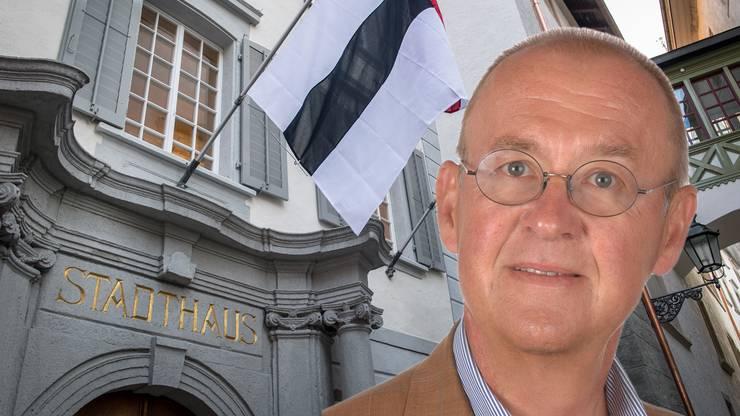 Mark Füllemann zeigt sich irritiert ob des Vorgehens des Badener Stadtrats.