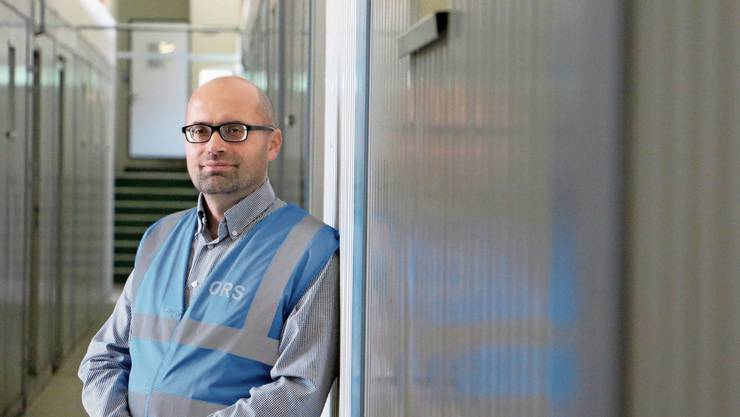 Fehmi Lestrani leitete über drei Jahre lang die kantonale Asylunterkunft in Frick.