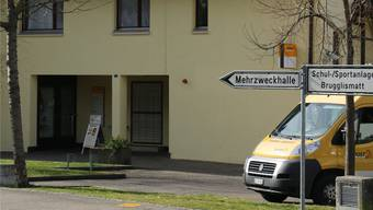 Die ehemalige Poststelle in Zeiningen. (Archiv)
