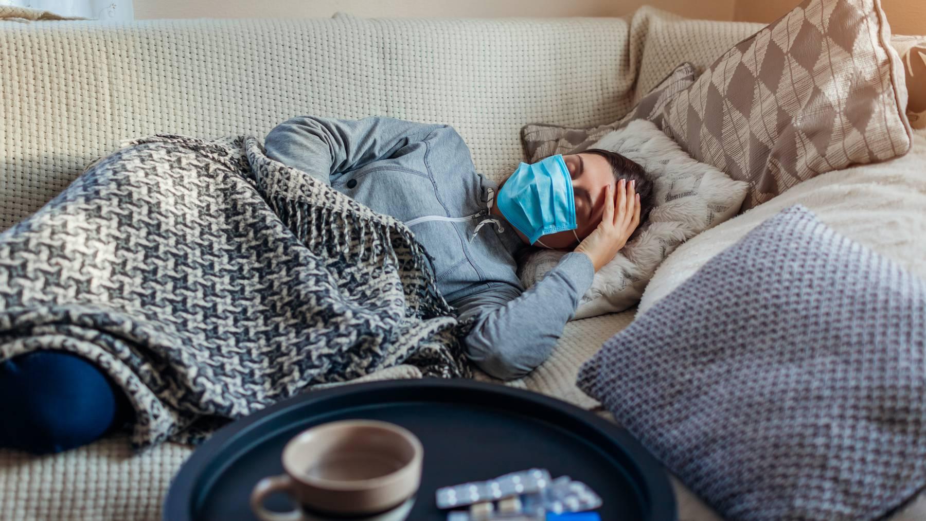 Krank Grippe Corona