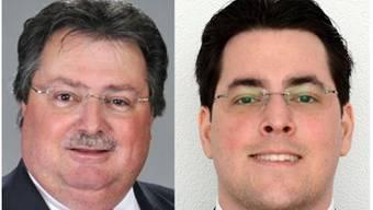 Roman Bangerter (parteilos) und Albert Hilber (FDP) treten nochmals an.