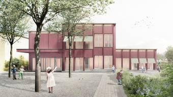 Der Kindergarten soll bis im Sommer 2022 entstehen.