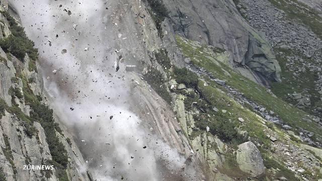 6 Verletzte nach Steinschlag am Gelmersee