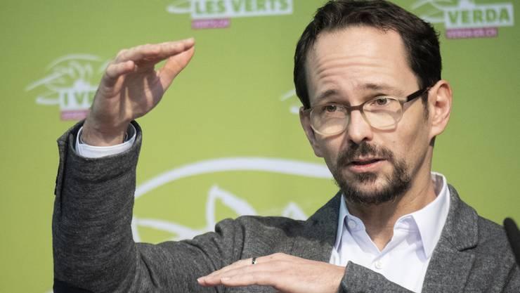 Balthasar Glättli dürfte die Nachfolge von Regula Rytz an der Spitze der Grünen Schweiz antreten.