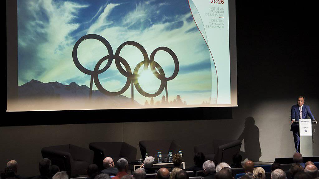 Die kantonalen Polizeidirektoren wollen keine Gratis-Polizisten an die Olympischen Winterspiele 2026 in Sitten entsenden. (Archivbild)