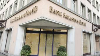 Die Bank Sarasin verzichtet auf einen Rekurs im Prozess gegen deutschen Drogerie-Unternehmer Müller. Deshalb muss sie an Müller 45 Millionen Euro zahlen. (Archiv)