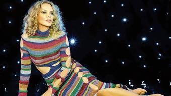 Kylie Minogue ist zurück im Rampenlicht: Wilde Tanznächte finden bei ihr momentan nur in der Fantasie statt.