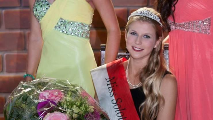 Miss Solothurn 2013 Andrea Sekler aus Flumenthal