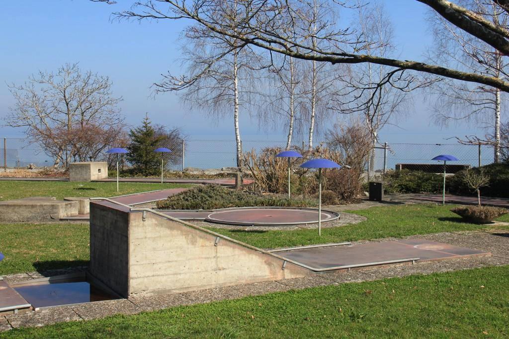 Das Minigolf Romanshorn befindet sich direkt am See (© FM1Today/Stephanie Martina)