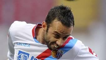 Giuseppe Mascara erzielte für Catania den vorentscheidenden Treffer zum 2:1